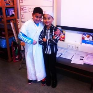 Moskee-bezoek